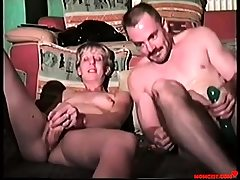 Father and stepdaughter violate each others holes! VINTAGE