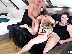 EXTREM SKINNY  ANOREXIC TEEN get First Time Audition Fuck