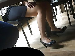 Candid soles and heels at work #21