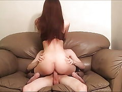 Screwing Spanking Rough Sex on the Couch