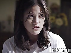 Chinese teenie daughter-in-law taboo fucked by a mature geezer