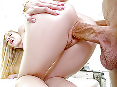 TINY4K Big dick Penalizes tight unshaved coochie