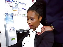 Ivy Young Black Secretary