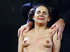 Young sluts tits flagellated with total intensity