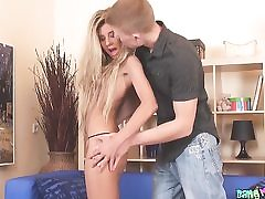 Sizzling and cock-squeezing culo