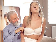 Ultra-cute man meat of aged educator was main target for promiscuous ultra-cutie